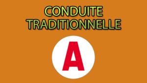 Conduite Traditionnelle